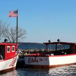 Eddy's has many different boats available to best accomodate your group!