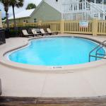 One of the pools at the sunbird