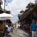 straatje in Ubud