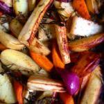 New harvest vegetables