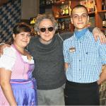 актер Вади́м Ви́кторович Демчо́г (Интерны) в гостях в ресторане de Bassus