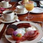 Beautifully presented Irish Breakfast