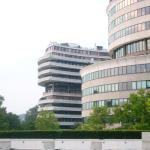 Kennedy Center - Blick auf Kennedy Center auf Watergate Complex