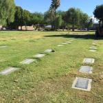 Row where Frank Sinatra and family are buried