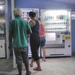 Frisch installoert, Food- und Getränkeautomat