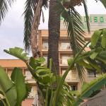 Aussenansicht aus dem Hotelgarten