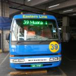 Bus no. 39 from BSB Bus Terminal takes you to Brunei Musuem.