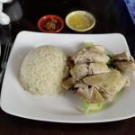Insipid 'Hainanese Chicken Rice' - Laksa Hut