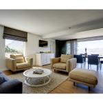 Deluxe villa lounge area