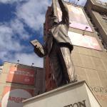 Statua di Bill Clinton a Pristina