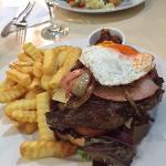 Steak sandwich- yumm