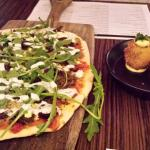 Lamb Pizza & Arancini