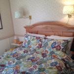 Das sehr bequeme Bett