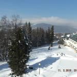 Piękny widok na Tatry i Zakopane