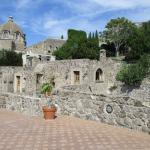Beautiful terracing at the Castello Aragonese d'Ischia.