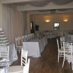 The downstairs reception venue