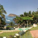 Panoramica vista desde las Villas hacia el oceano