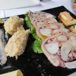 2015-10-05 kalte Fischplatte als Vorspeise für 2 Personen (Bild 2/2)