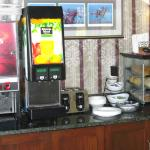 Lobby Continental Breakfast area