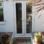 Eden suite - outside garden