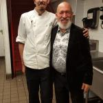 Me with Chef Chris Anderson