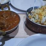 Goat Stew and Lamb with Rice