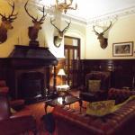One side of entrance/reception area Ledgowan Lodge Hotel