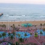 Beachfront  - from 14th floor of Garden Court Marine Hotel
