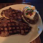 Porterhouse steak!
