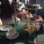 Lovely champagne tea for two!