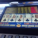 Bar/ Casino 15 Video Poker, Keno (5¢), Slots and Black Jack machines