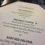 Cocktails inspired by 'Twin Peaks'