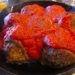 Hearty meatballs