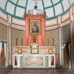 Altar in Mission building