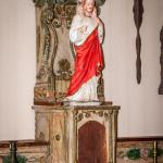 Statues awaiting restoration