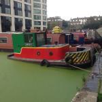 Bantam IV narrowboat tug
