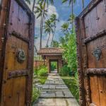 Aaantique Doors to Pond
