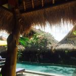 Lovely atmosphere at truly Calm Tree Bungalows