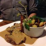 plat : agneau et pomme de terre
