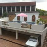 Innenhof und Pool