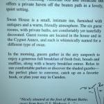 Swan house description