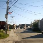 Main St of Vinal Haven, Maine