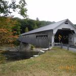 The largest covered bridge in Vermont