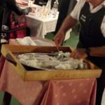 salt encrusted cod preparation