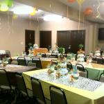 Baby shower in the conference room