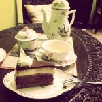 Tea and cake:)