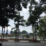 Li-rivier by day bij hotel