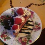 Yummy Cheesecake made by the Murphy Guest House