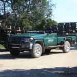Safari Fahrzeug