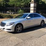 New shape Sclass Mercedes